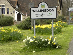 Willingdon Welcome Sign